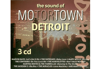 VARIOUS - The Sound Of Motortown Detroit - (CD)