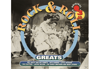VARIOUS - Rock & Roll Greats - (CD)