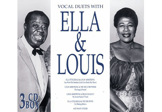 Ella Fitzgerald - ELLA & LOUIS (VOCAL DUETS) - (CD)