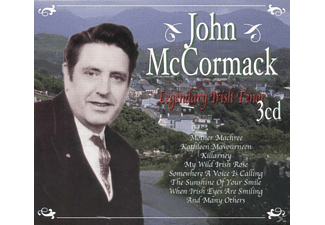 John Mccormack - Legendary Irish Tenor - (CD)