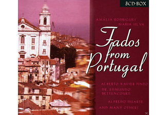 VARIOUS - Fados From Portugal - (CD)