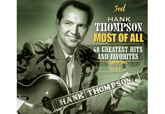 Hank Thompson - Most of All: 48 Greatest Hits & Favorites - (CD)