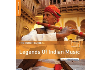 VARIOUS - Rough Guide: Legends Of Indian Music - (LP + Download)