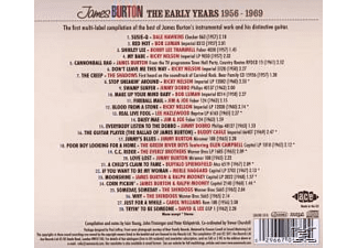 James Burton - The Early Years 1957-1969 - (CD)