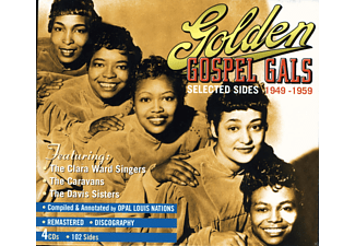 The Clara Ward Singers, The Caravans, Sisters - Golden Gospel Gals (Selected Sides 1949-1959) - (CD)