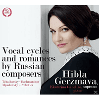 Ekaterina Ganelina (pno) Hibla Gerzmava  (sopr) - Vocal Cycles and Romances [CD]