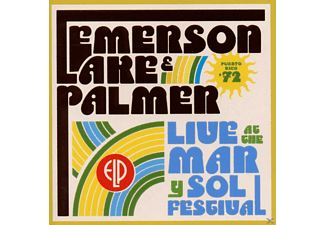 Emerson, Lake & Palmer - Live At Mar Y Sol Festival '72 [CD]