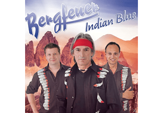 Bergfeuer - Indian Blue - (CD)
