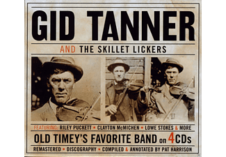 Gid Tanner, The Skillet Lickers - Old Timey's Favourite Band - (CD)