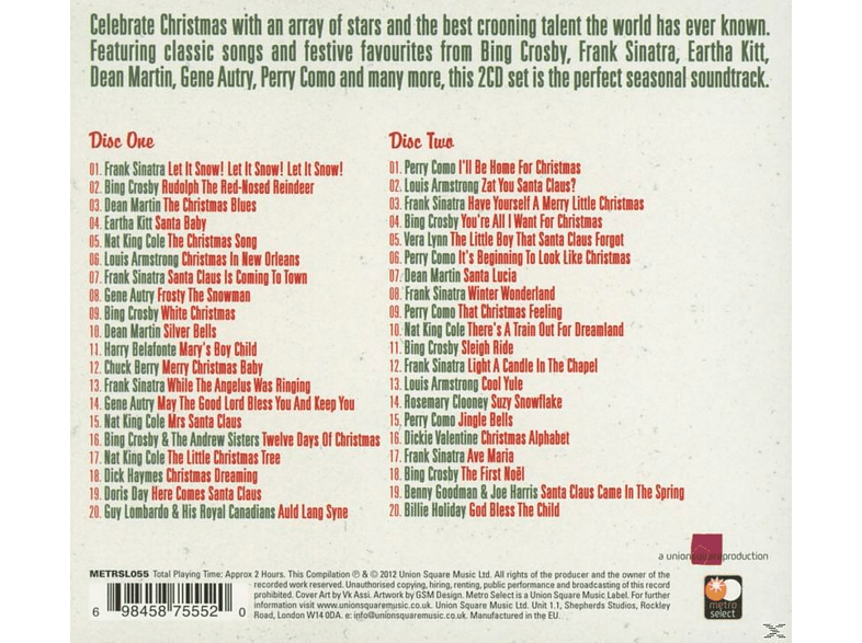 VARIOUS - Christmas Crooners - Essential 2 Cd Collection [CD]
