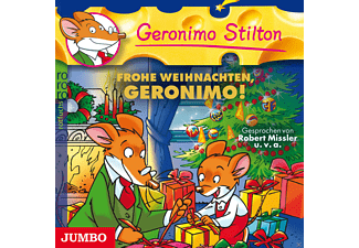 Geronimo/Various Stilton - Geronimo Stilton - Frohe Weihnachten, Geronimo! - (CD)