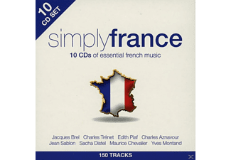 VARIOUS - Simply France - (CD)