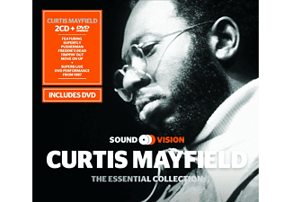 Curtis Mayfield - Essential Collection (2cd+Dvd) [CD]