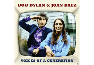 Bob Dylan, Joan Baez - Voices Of A Generation - (CD)