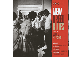 VARIOUS - New Breed Blues With Black Popcorn - (CD)