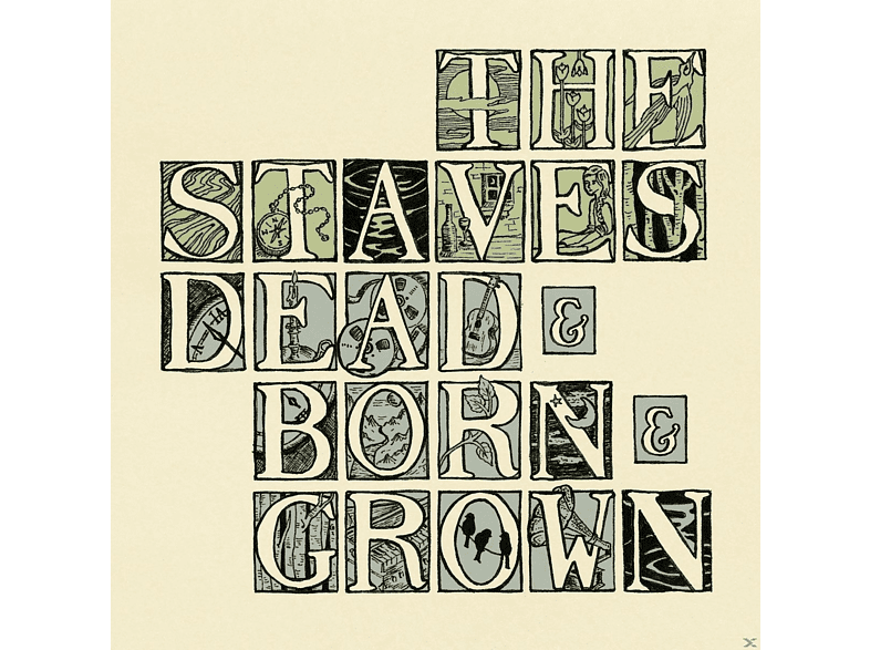 The Staves - Dead & Born & Grown [CD]
