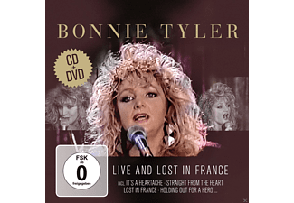 Bonnie Tyler - Live & Lost In France - (CD + DVD)