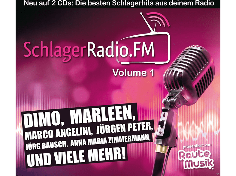 VARIOUS - Schlagerradio.Fm Vol.1 [CD]