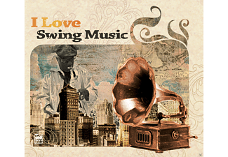 VARIOUS - I Love Swing Music - (CD)