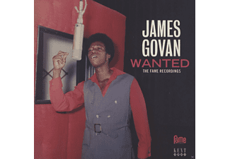 James Govan - Wanted-The Fame Recordings - (CD)