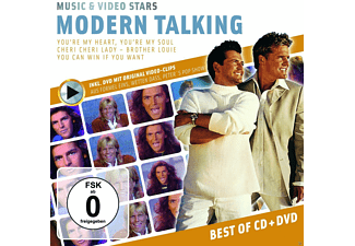 Modern Talking - Music & Video Stars - (CD + DVD Video)