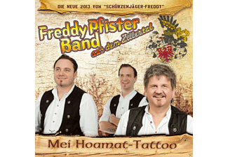 Freddy Band Pfister - Mei Hoamat-Tattoo - (CD)