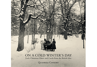 Quadriga Consort - On A Cold Winter's Day - (CD)