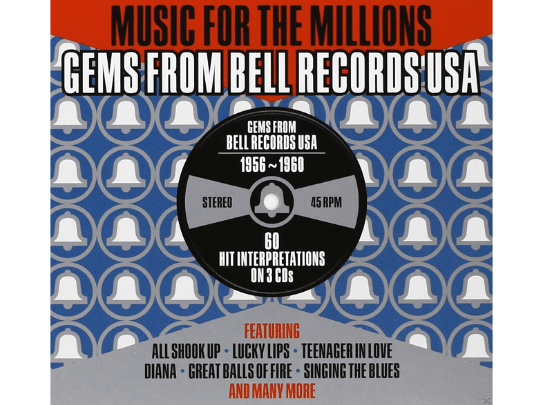 VARIOUS - Music For The Millions-Bell Rec.Usa Story 1956-60 [CD]