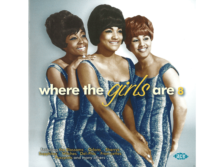 VARIOUS - Where The Girls Are Volume 8 [CD]