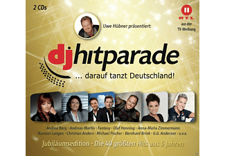 VARIOUS - Dj Hitparade Jubiläumsedition - (CD)