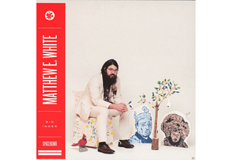 MATTHEW E. White - Big Inner - Outer Face Edition - (CD)