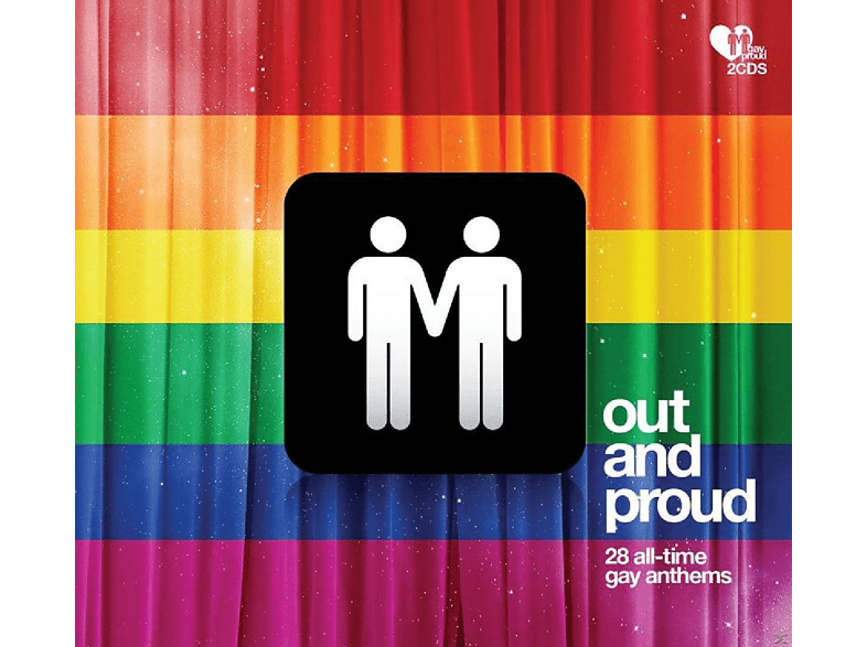 VARIOUS - Out And Proud-28 All-Time Gay Anthems [CD]
