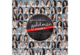 VARIOUS - Generation Goldman Vol.2 - (CD)
