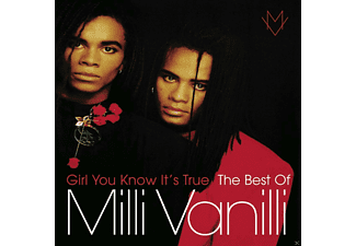 Milli Vanilli - Girl You Know It's True - The Best Of Milli Vanilli - (CD)
