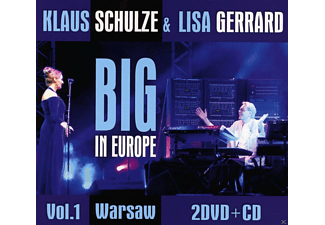 Klaus Schulze, Lisa Lisa Gerrard - Big In Europe Vol.1 Warsaw (Inklusive Bonus-Cd) [CD + DVD Video]