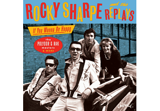 Rocky & The Replays Sharpe - If You Wanna Be Happy-Polydor & Rak Masters [CD]