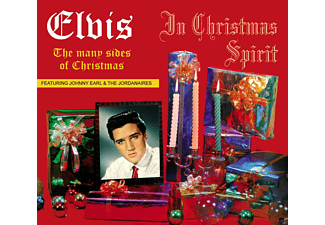 Elvis Presley, Johnny Earl, Jordanairs Presley - In Christmas Spirit-The Many Side [CD]