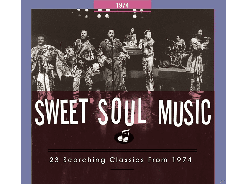 VARIOUS - Sweet Soul Music. 23 Scorching Classics From 1974 [CD]