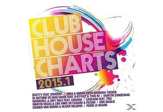 Various - Club House Charts 2015.1 - (CD)
