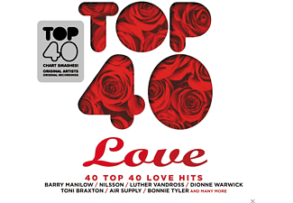 VARIOUS - Top 40-Love [CD]