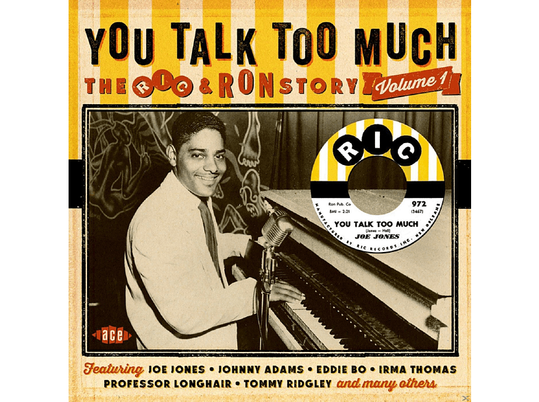 VARIOUS - You Talk Too Much - The Ric & Ron Story Vol.1 [CD]