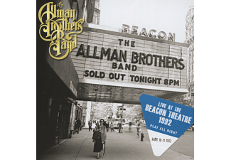 The Allman Brothers Band - Play All Night: Live At The Beacon Theater 1992 [CD]