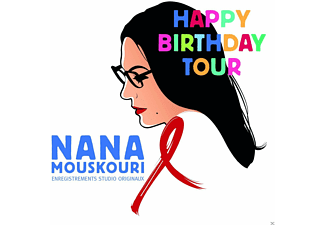 Nana Mouskouri - Happy Birthday Tour - (CD)