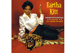 Eartha Kitt - Down To Eartha + St Louis Blue - (CD)