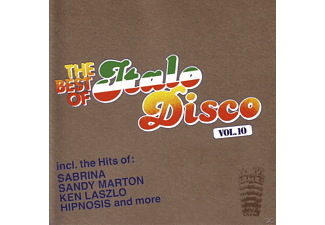 VARIOUS - The Best Of Italo Disco Vol.10 [CD]