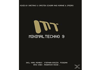 VARIOUS - Minimal Techno 9 - (CD)