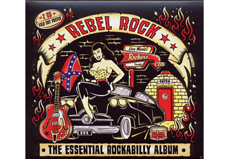 VARIOUS - Rebel Rock-Essential Rockabilly - (CD)