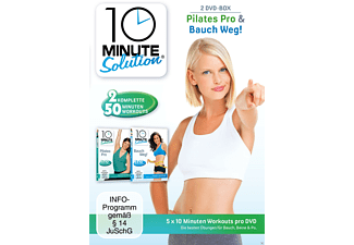 BAUCH WEG/PILATES PRO - 10 MINUTE SOLUTION - (DVD)