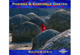 Parissa, Ensemble Dastan - Shoorideh - (CD)