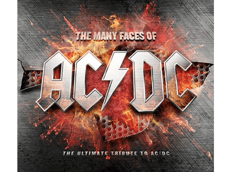 AC/DC - The Many Faces Of Ac/Dc - The Ultimate Tribute To Ac/Dc [CD]